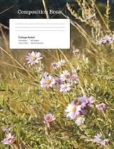 Wild Flowers Composition Notebook, College Ruled
