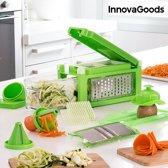 groentesnijder en -rasp met Receptenboekje