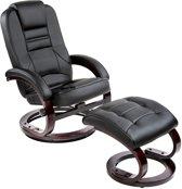 TecTake TV fauteuil relax stoel met voetenbank - 401555
