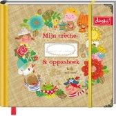 Mijn Creche- en Oppasboek Dushi - Invulboek - Sluiting met Elastiek - 24 x 21 x 3,5 cm