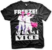 Miami Vice Freeze t-shirt heren L