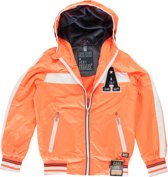 jongens Jas Cars jeans Jongens Jas - Neon Orange - Maat 140 8718082750721