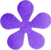 Papillon Glasonderzetters Bloem - Set van 6 Stuks - Paars