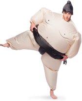 Opblaasbaar Sumo Worstelaar Kostuum Volwassenen