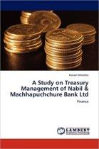 A Study on Treasury Management of Nabil & Machhapuchchure Bank Ltd