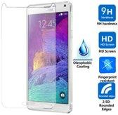 2 Stuks Pack glazen Screen protector Tempered Glass 2.5D 9H (0.3mm) Samsung Galaxy Note 4