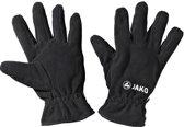 Jako Fleece Handschoenen Comfort - Sporthandschoenen -  Kinderen - Maat 7 - Zwart