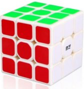 Magic cube-QIYI-speedcube-sail-5.6-Kubus 3x3  Breinbreker puzzel white-wit