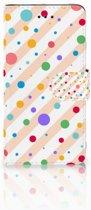 Huawei Y3 2017 Boekhoesje Design Dots