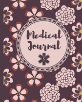 Medical Journal: Medical Record Organizer - Health Record - Healthcare Information Logbook for Patients, Families and Caregivers