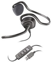 Plantronics Audio 648 Headset - Zwart