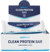 Body & Fit Clean Protein bar - Eiwitreep - 1 doos (12 eiwitrepen) - Cookie Dough Flavour