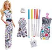 Barbie Crayola Inkleurfashions Caucasian - Barbiepop