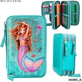 TopModel - Fantasy Model 3-vaks Etui - Mermaid (0410385)