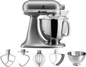 KitchenAid Artisan 5KSM175PSECU - Keukenmachine - Contour Zilver