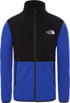 The North Face Glacier Full Zip Jacket Heren Outdoorjas - TNF Blue/TNF Black - Maat M