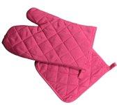 Arowell Ovenwant en Pannenlap - Roze