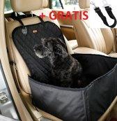 Autostoel voor honden 45x45|beschermhoes|hondenmand + GRATIS hondengordel