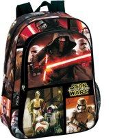 Star Wars rugzak 37 The Force - 2vakken - Goede, stevige kwaliteit.