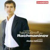 Rustem Hayroudinoff - Etudes Tableaux Complete