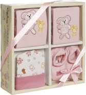 Playshoes Cadeauset Baby Roze 4-delig