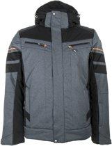 Icepeak Case Wintersportjas - Maat 52  - Mannen - grijs/zwart