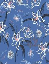 Lily Flower Composition Notebook