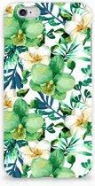 iPhone 6s Hoesje Orchidee Groen