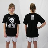 Bones Sportswear Cotton Unisex T-shirt Black maat L