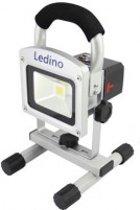 Ledino LED schijnwerper op accu 5.2A 10Watt koffer set