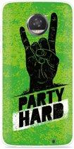 Motorola Moto Z2 Play Hoesje Party Hard 3.0