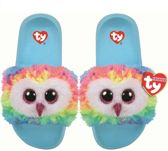 Ty Fashion - Beanie Babies - Kinderslippers - Owen the Owl - Maat L (36-38)