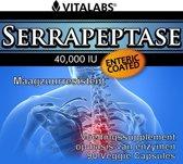 VitaTabs Serrapeptase 40.000 IE - 90 vegetarische capsules - Voedingssupplementen