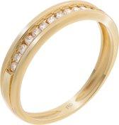 Orphelia RD-3020/52 - Ring - Geelgoud 18 Karaat - Diamant 0.20 ct