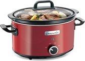 Crock-Pot SCV400RD - slowcooker - rood