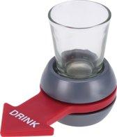 Drankspel Shot Spinner inclusief Shot glas