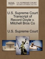 U.S. Supreme Court Transcript of Record Doyle V. Mitchell Bros Co