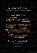 Solo sonates en partita's van J.S. Bach – 4 exemplaren in Endbox