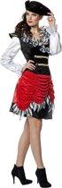 Piraten jurk Lisa voor dame