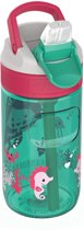 Kambukka Lagoon Kids Waterfles - 400 ML - Ocean Mermaid - Spout lid