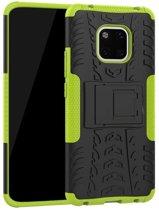 Rugged Hybrid Huawei Mate 20 Pro Case (Green)