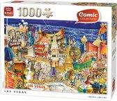 Comic Las Vegas - Puzzel - 1000 Stukjes