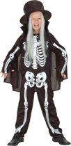 Halloween Skelet - Kostuum - Maat M/L
