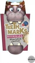 Bladwijzer 'Teethmarks' - Nijlpaard