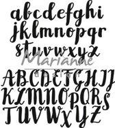 Marianne Design Craftables HandLichtlettering Alfabet