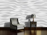 Fotobehang Papier Design | Grijs | 368x254cm