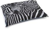 Beeztees Zebra - Hondenkussen - 100x70 cm