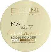 Eveline Cosmetics Matt My Day Loose Banana Powder 6g.