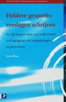 Praktijkgidsen voor manager en ondernemer - Heldere gespreksverslagen schrijven
