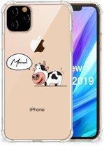 iPhone 11 Pro Max Stevige Bumper Hoesje Cow